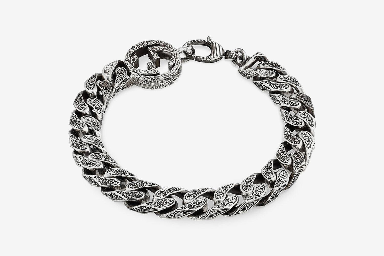 Interlocking-G Curb Chain Bracelet