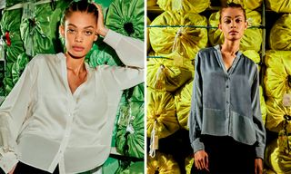 Public School & Eileen Fisher Debut Upcycled Fall Capsule