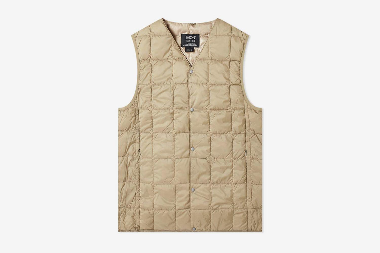 V-Neck Down Vest