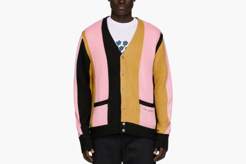 "Noon Goons Striped ""The Droogs"" Cardigan"