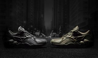 """Mizuno Unveils the Extra Stealthy Wave Rider """"Tech Future"""" Pack"""