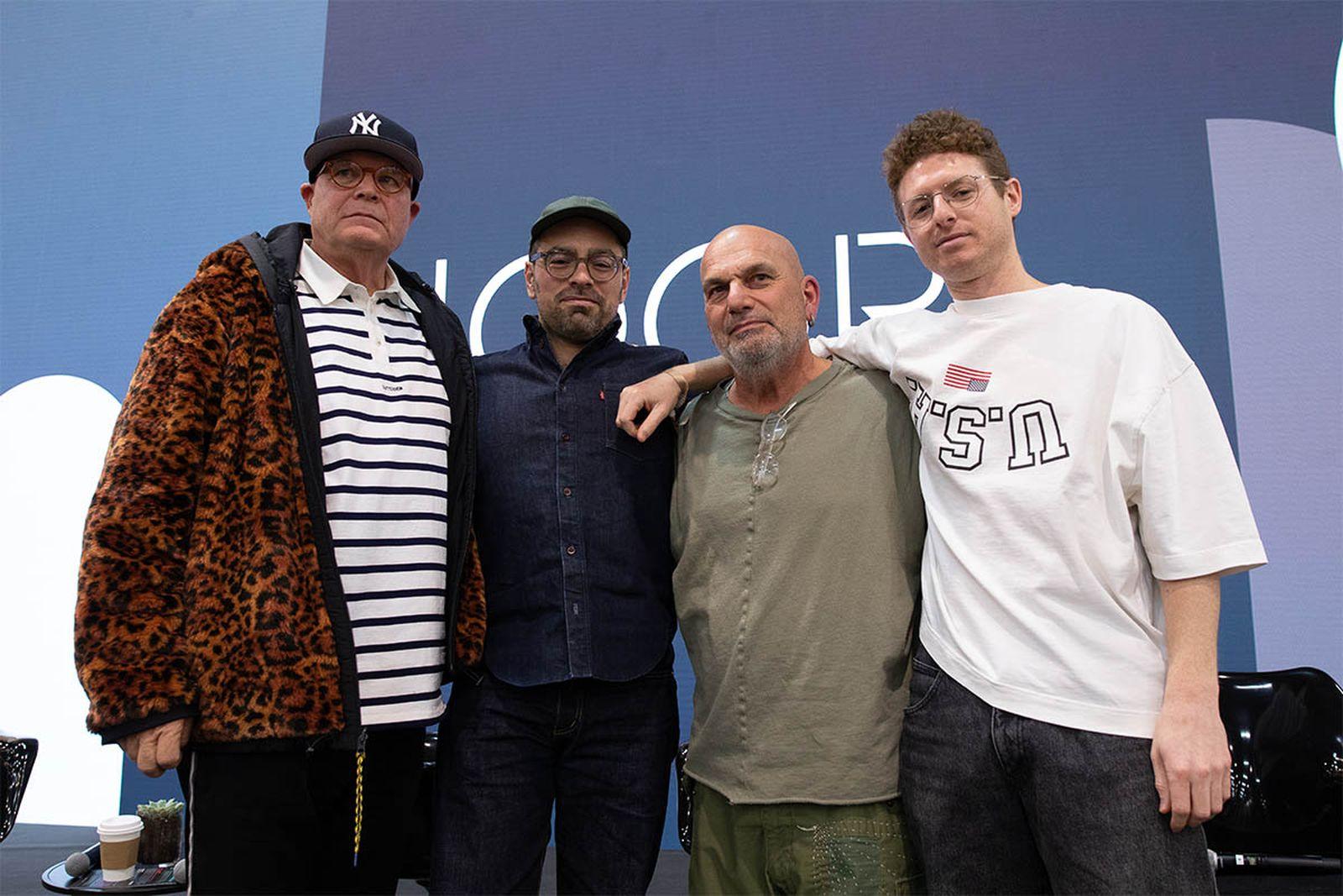 From left: Mark Werts, Jeff Carvalho, Maurizio Donadi, and Brock Cardiner.