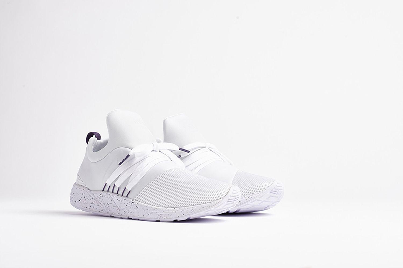 Raven White Mesh Sneaker