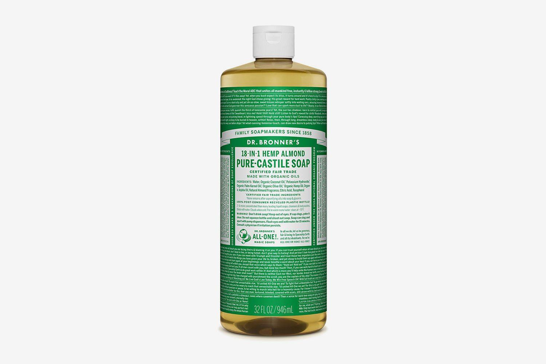 Hemp Almond Pure-Castile Liquid Soap