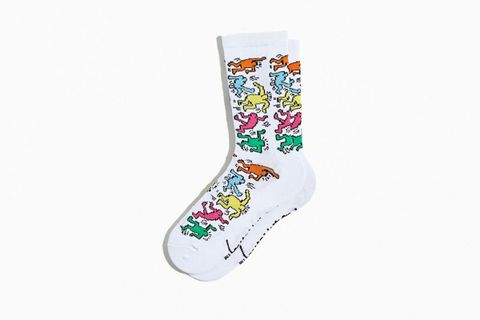 Keith Haring Crew Socks