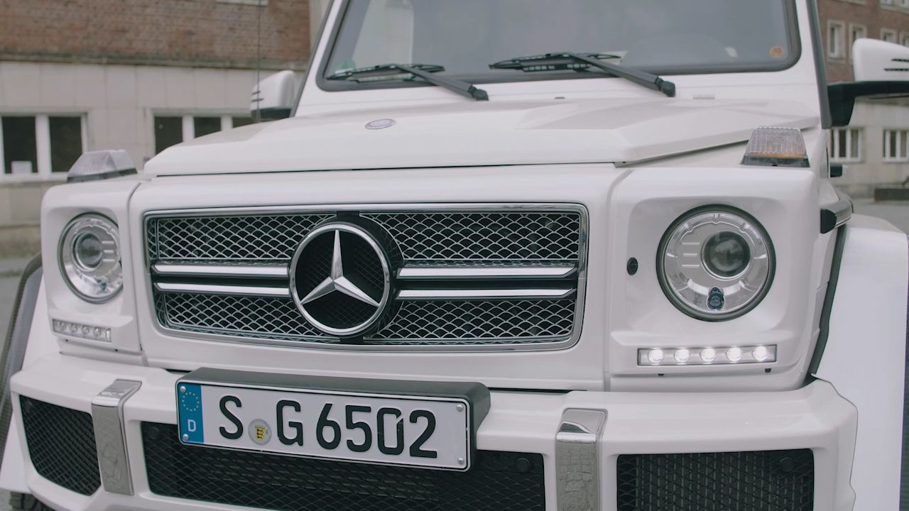 Likely the Best Look You'll Ever Get of the Mercedes-Maybach G 650 Drake Bought