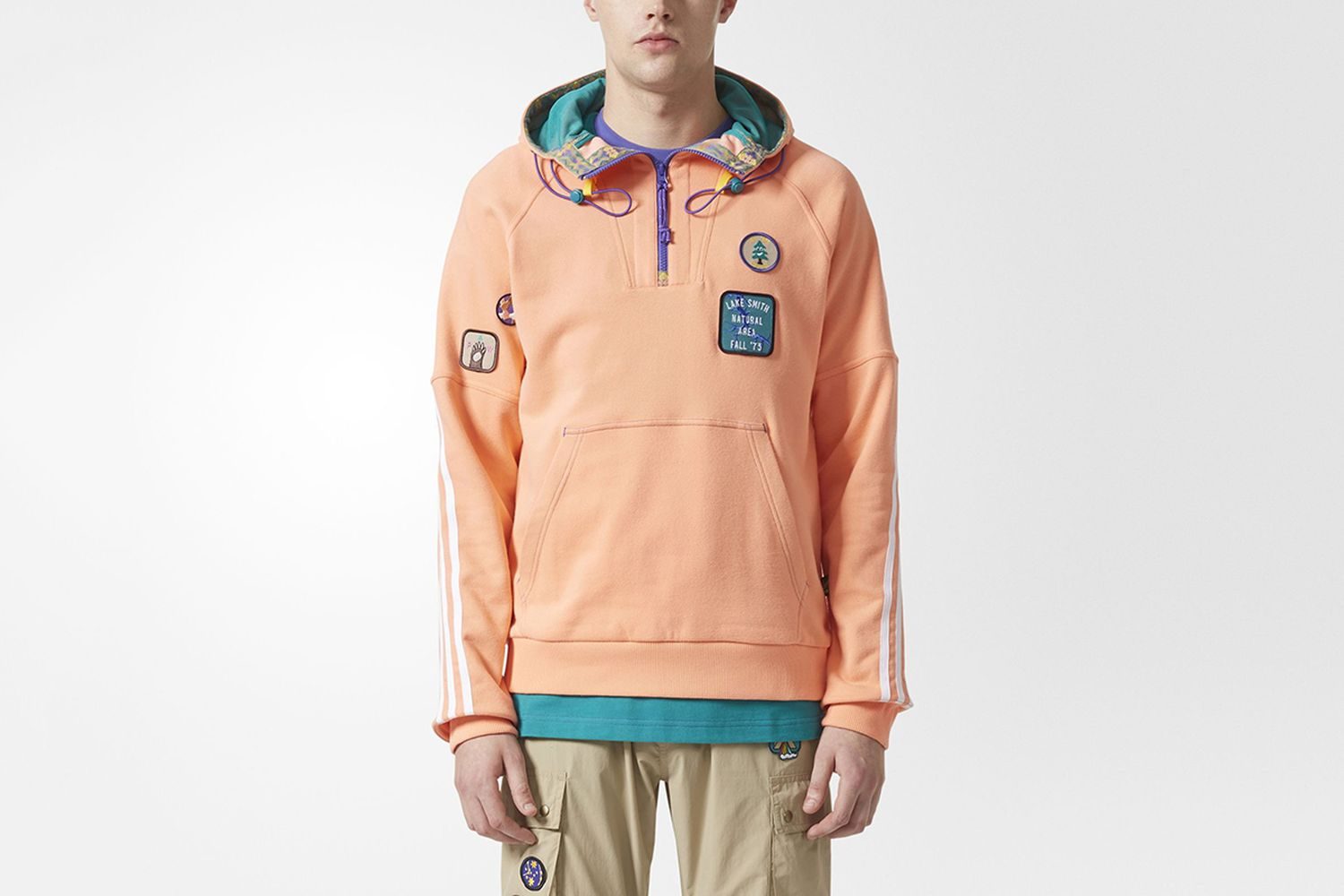 HU Hiking Hooded Sweatshirt