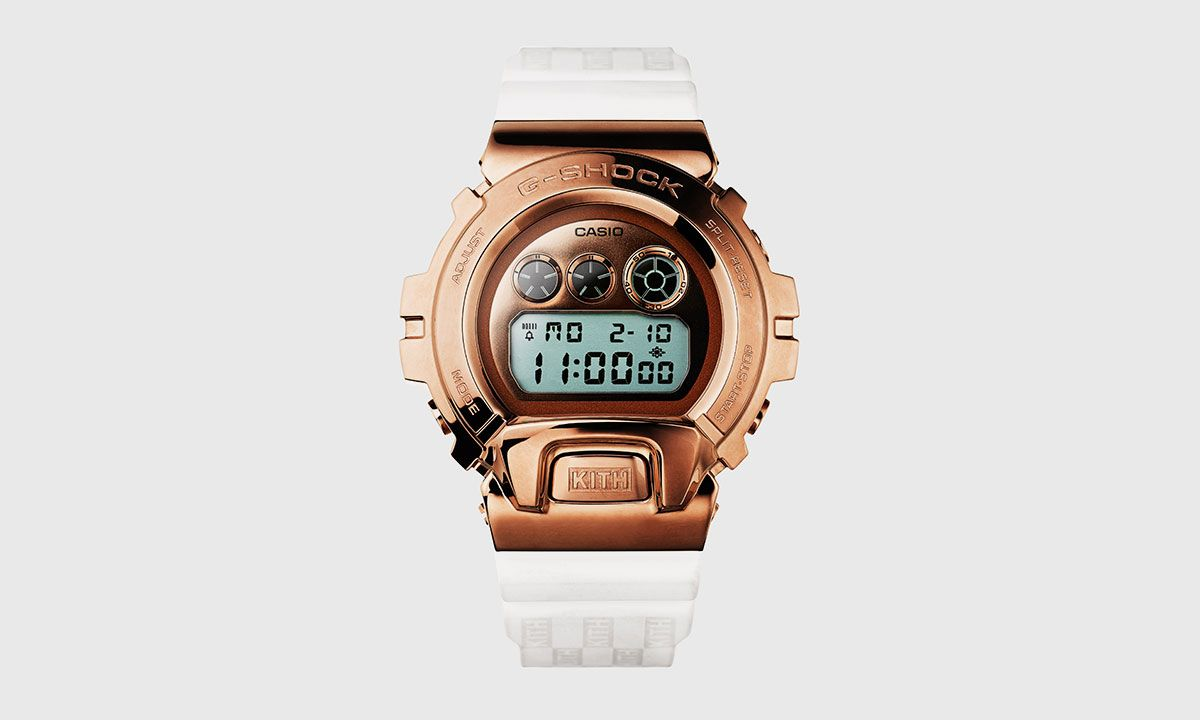 KITH x G-SHOCK GM6900 Rose Gold: Release Info