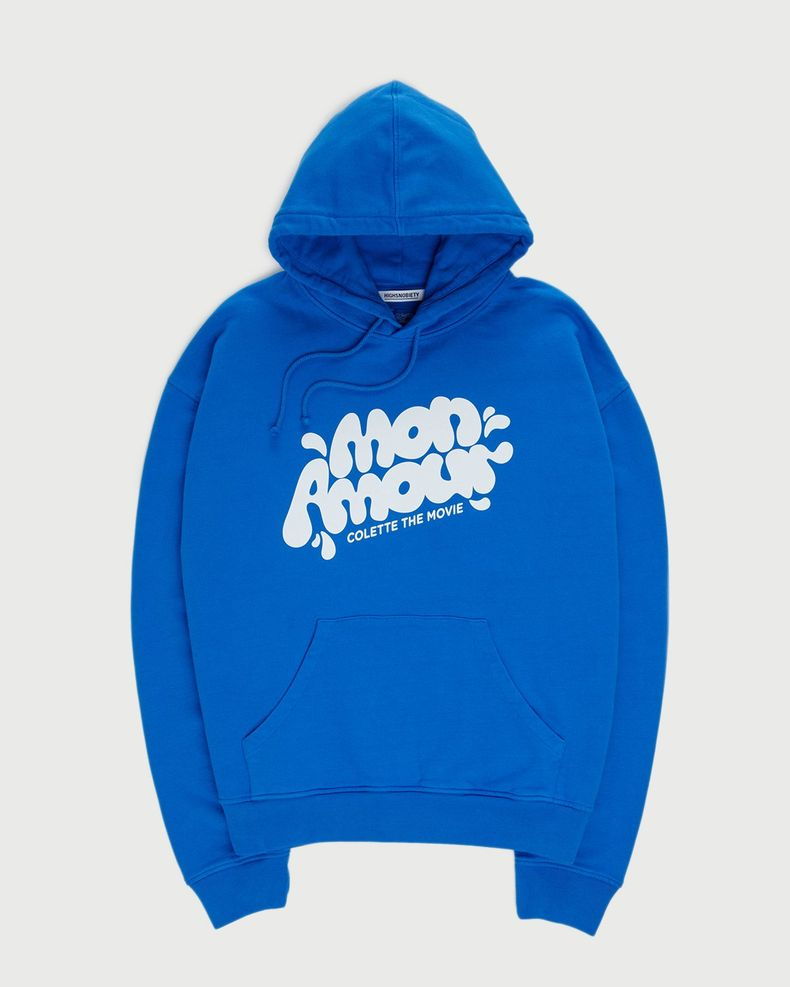 Colette Mon Amour — Water Bar Hoodie Blue