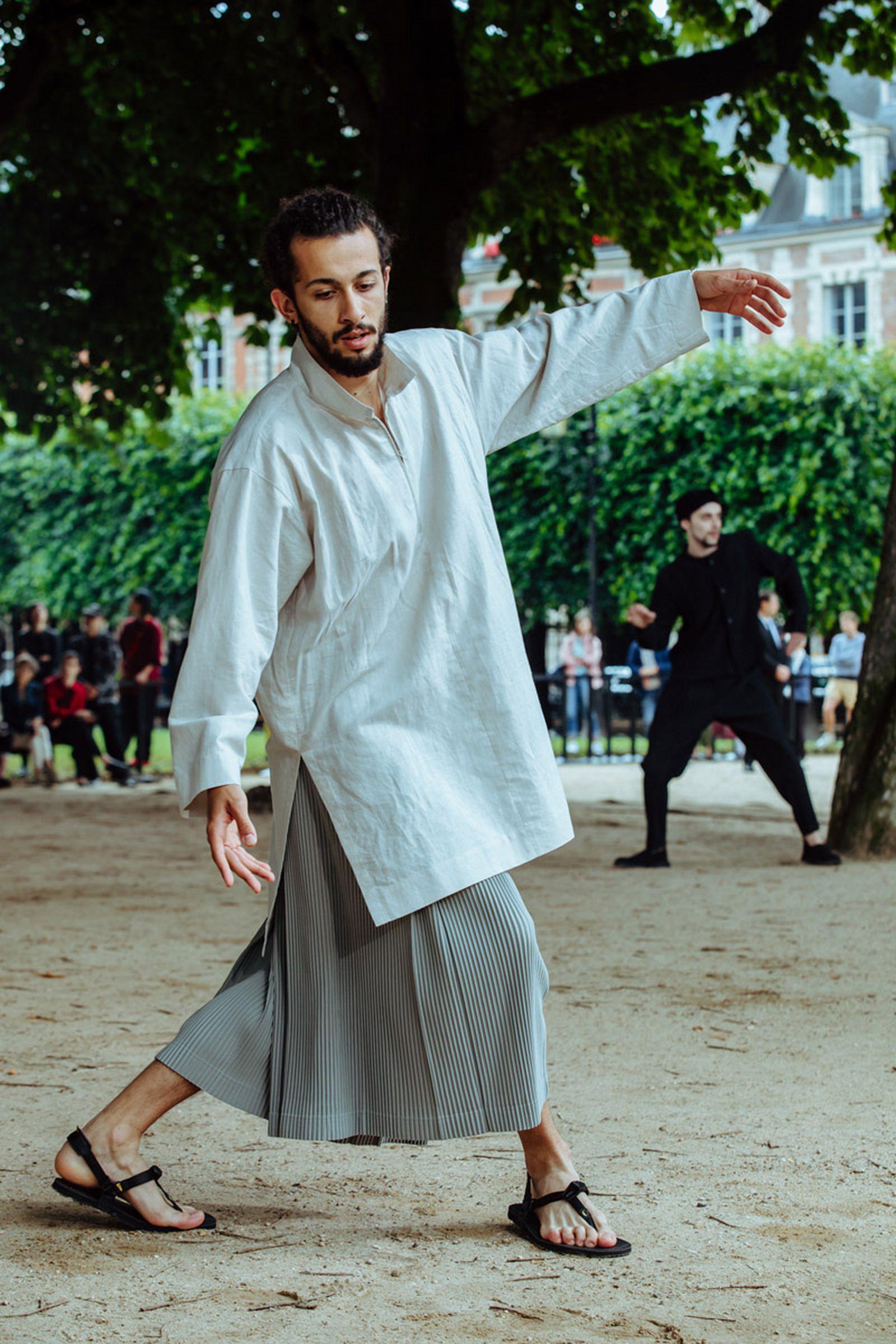 MSS20 Paris IsseyMiyake JulienTell ForWeb 14 Issey Miyake HOMME PLISSÉ paris fashion week runway