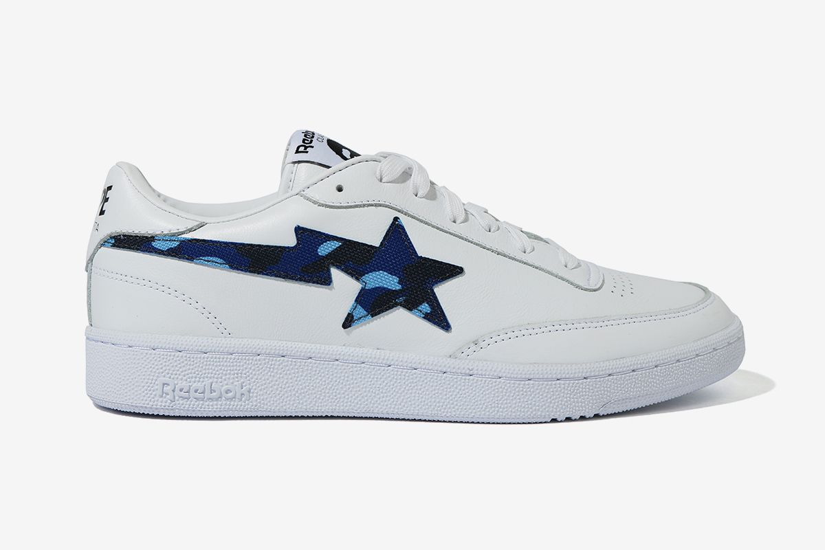 BAPE Turns Reebok's Club C Into the BAPE STA 23