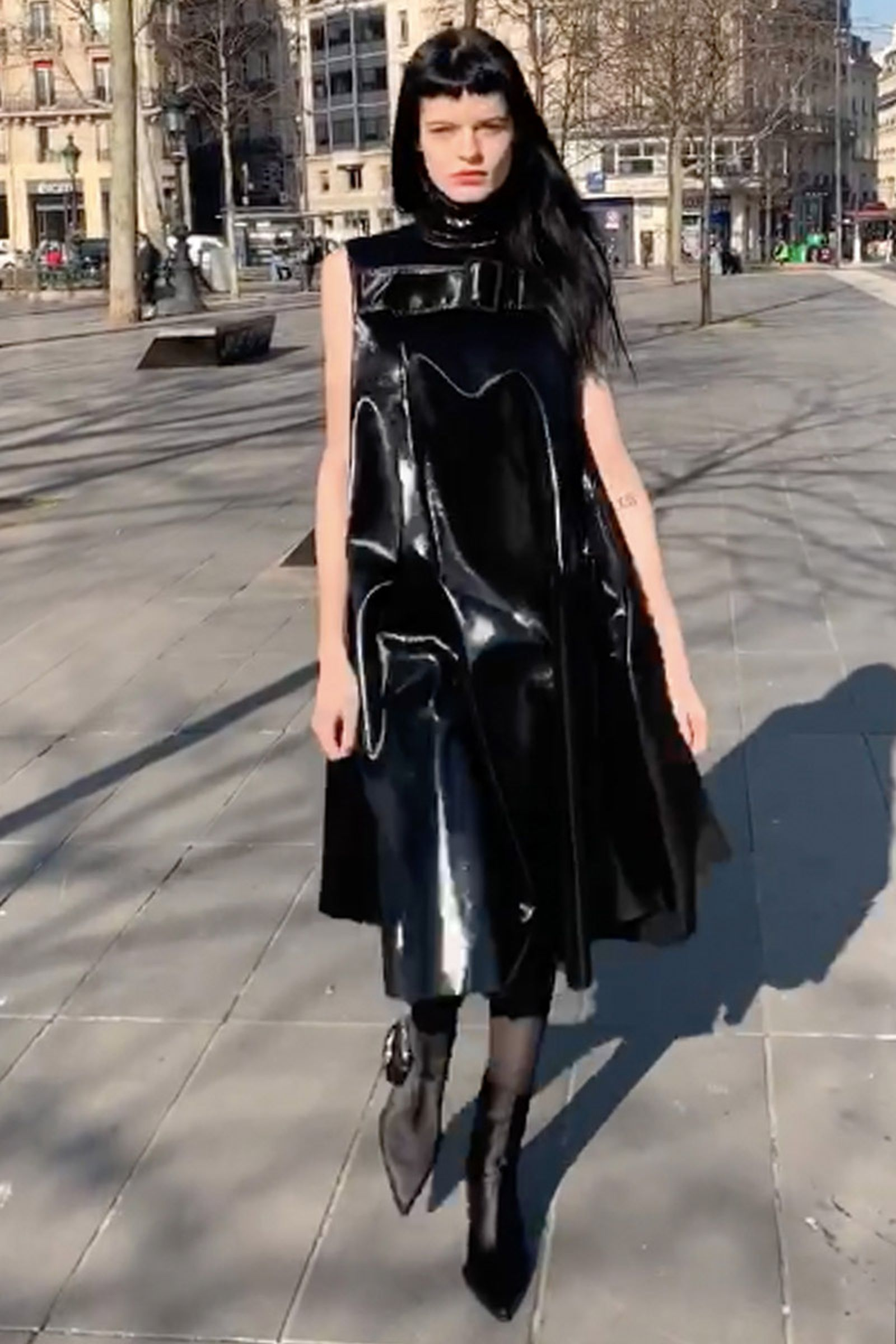 yang li fw19 paris fashion week