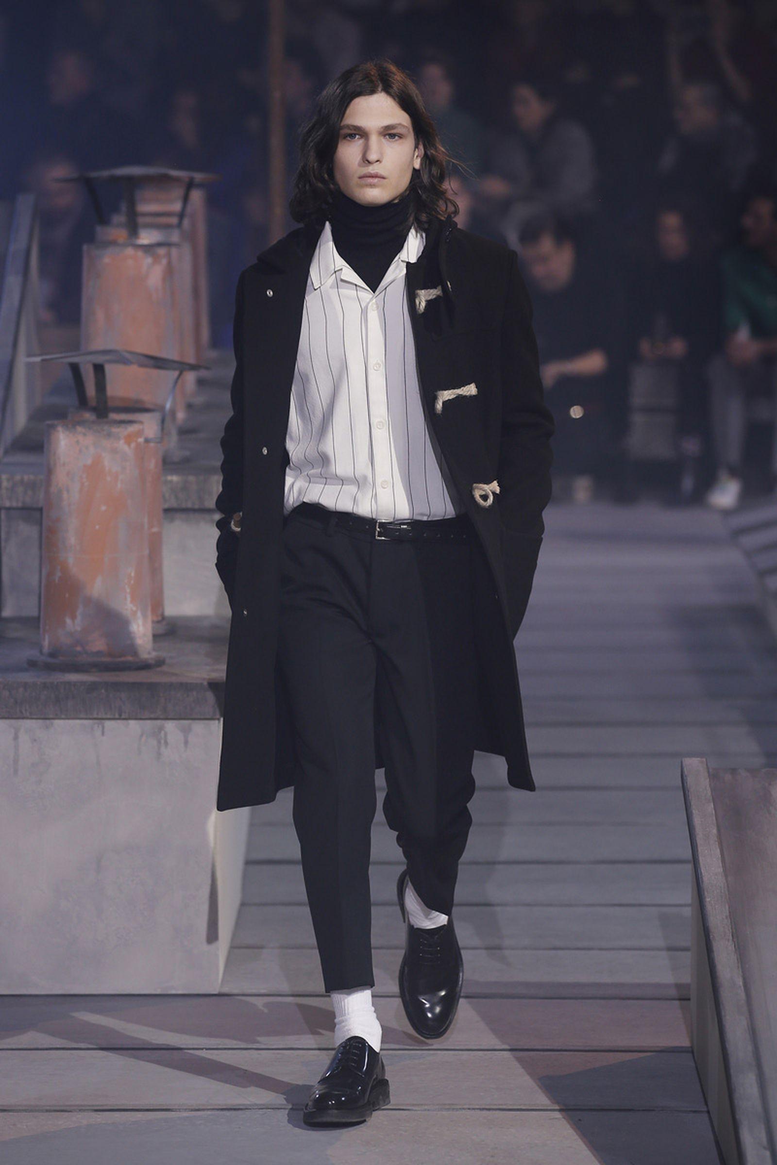 ami paris fashion week runway