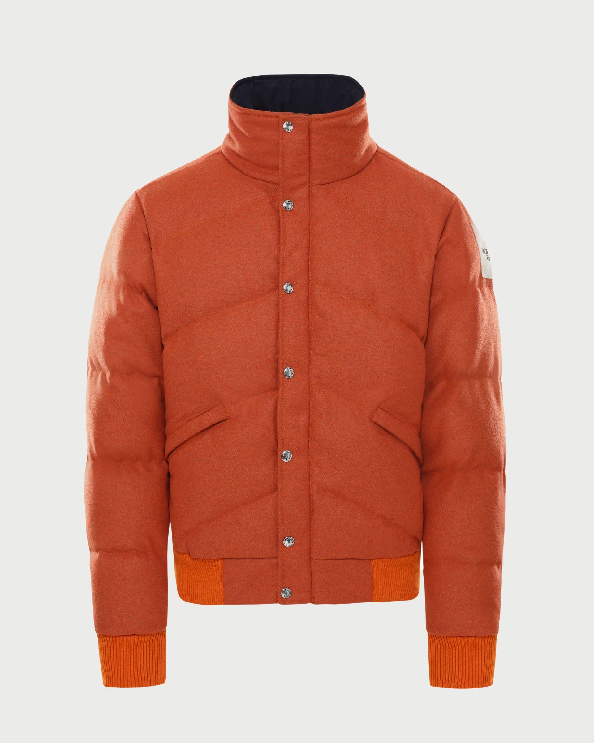 The North Face Brown Label - Larkspur Wool Down Jacket Heritage Orange Men - Image 1