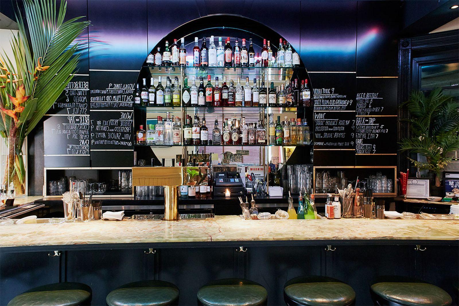 best new york bars mr fongs AMEX american express platinum food & drink