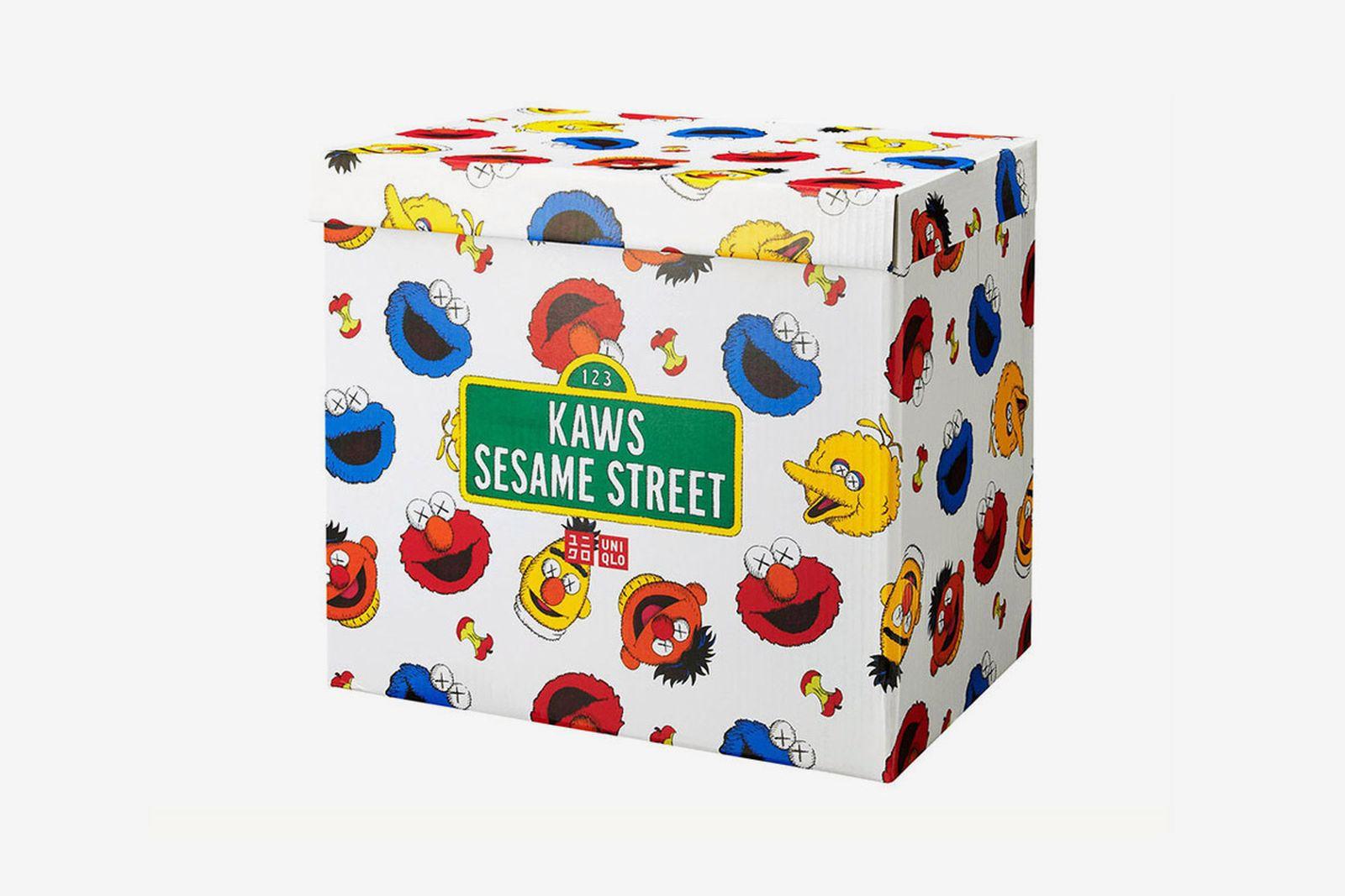 kaws sesame street uniqlo fw18 collection
