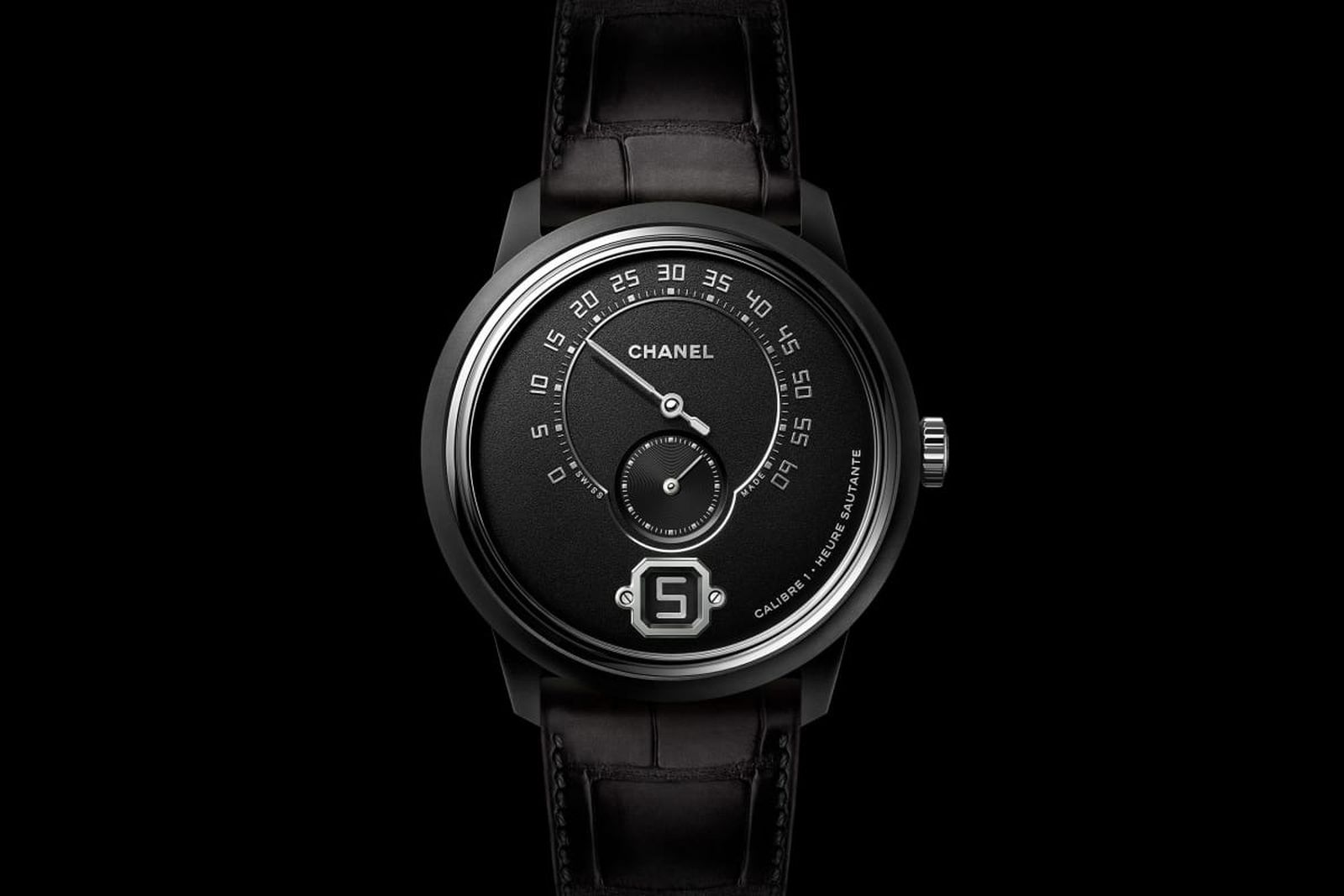 chanel monsieur black ceramic