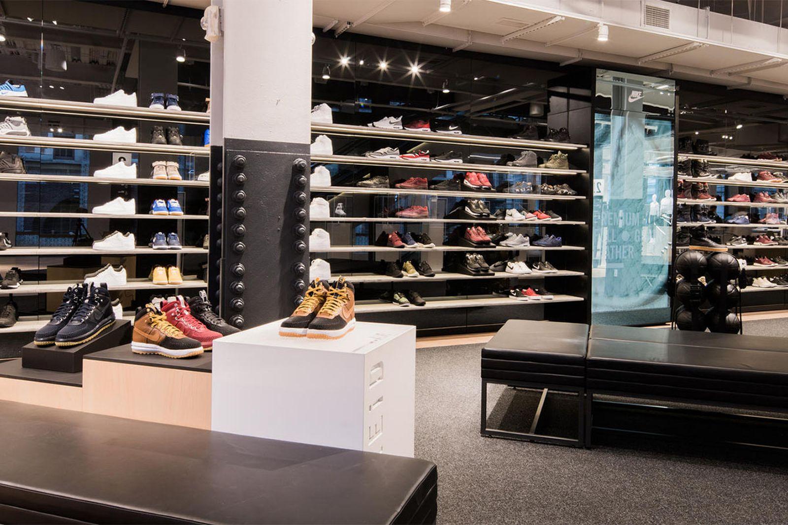 best new york sneaker stores nike soho AMEX american express platinum