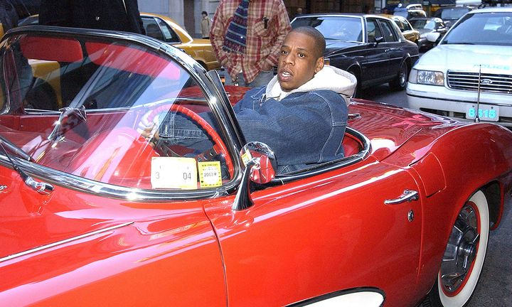 JAY-Z red car