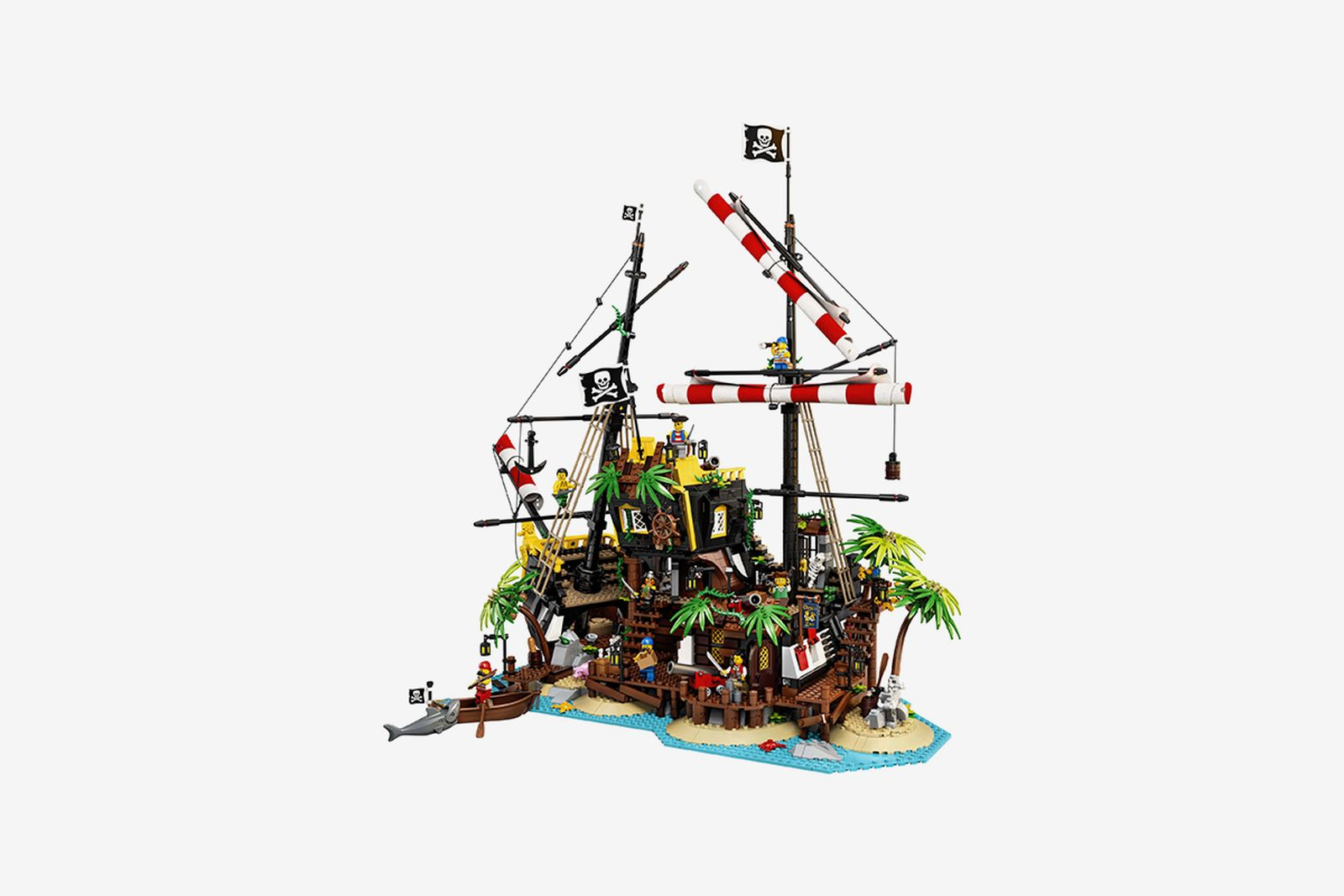 LEGO Pirates of Barracuda Bay Set