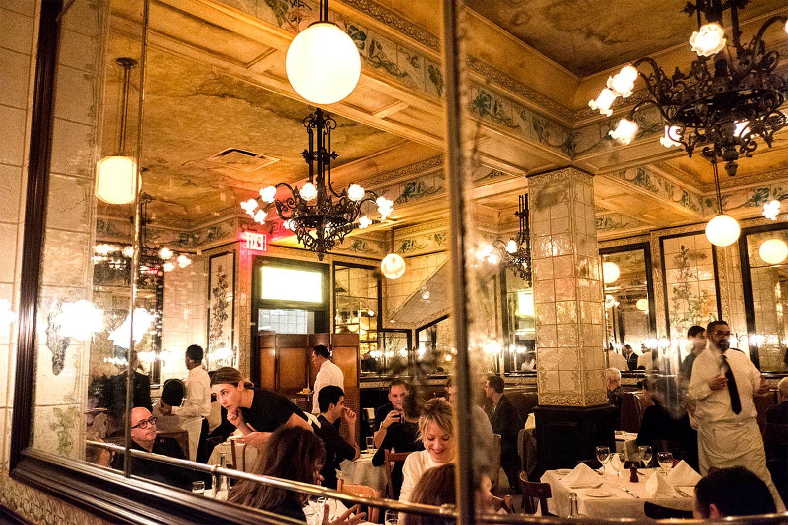 new york mid range restaurants augustine AMEX american express platinum food & drink