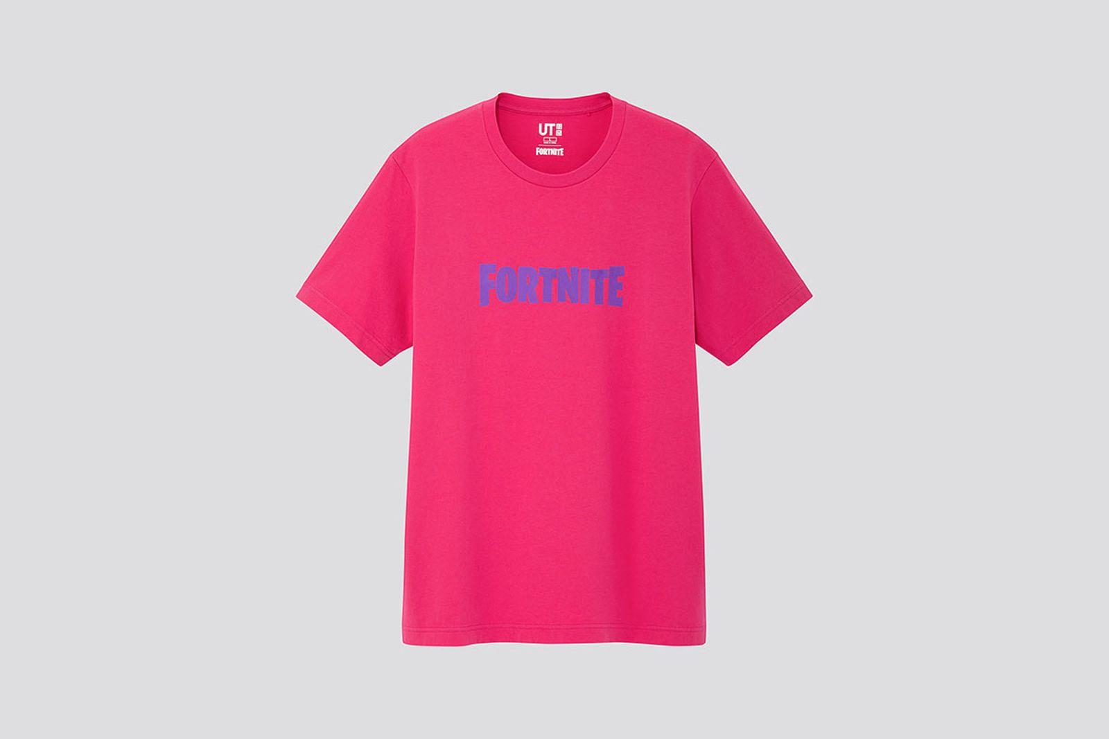 Uniqlo UT Fortnite collection