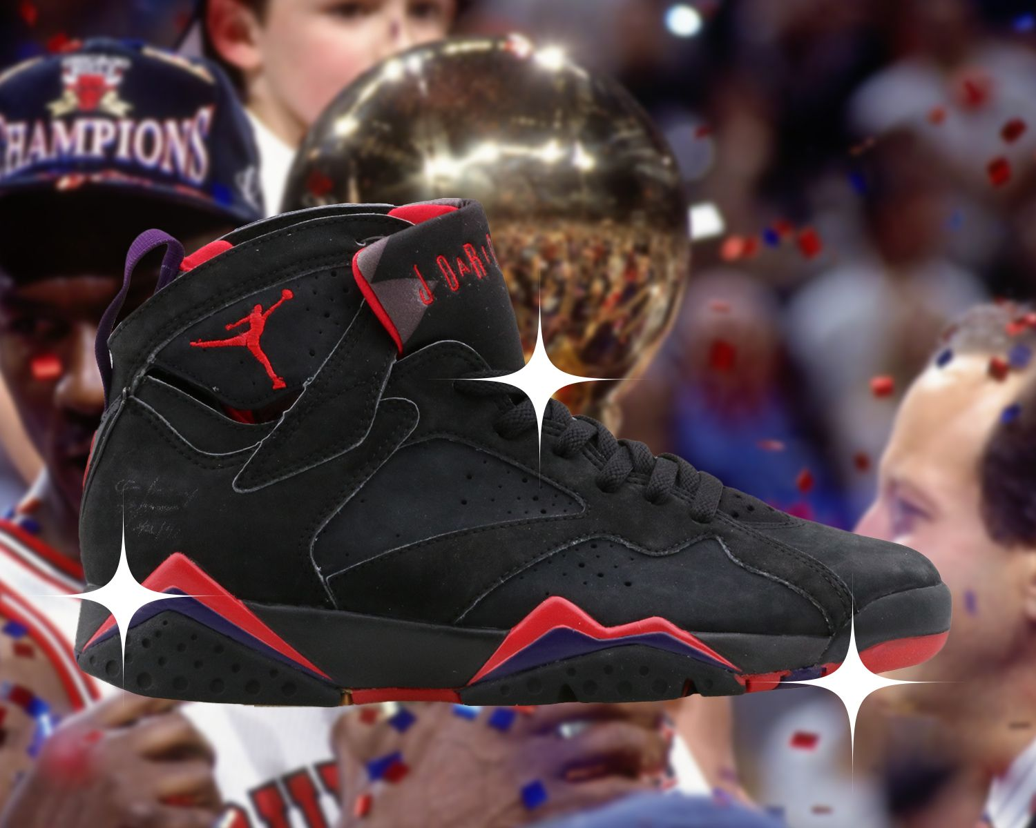 The 6 Sneakers Michael Jordan Wore When He Became a Champion 17