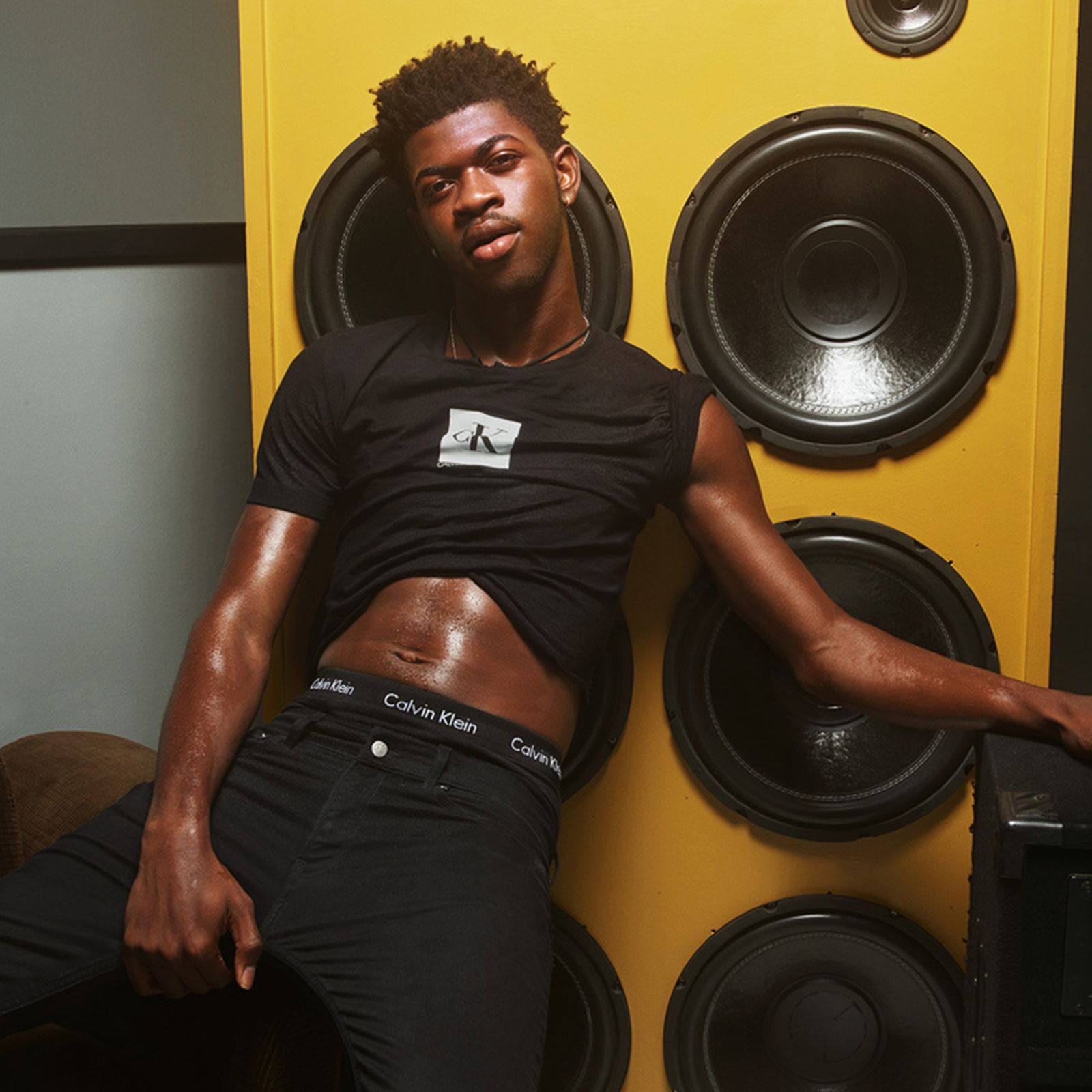"""Lil Nas X Calvin Klein """"DEAL WITH IT"""" Campaign"""