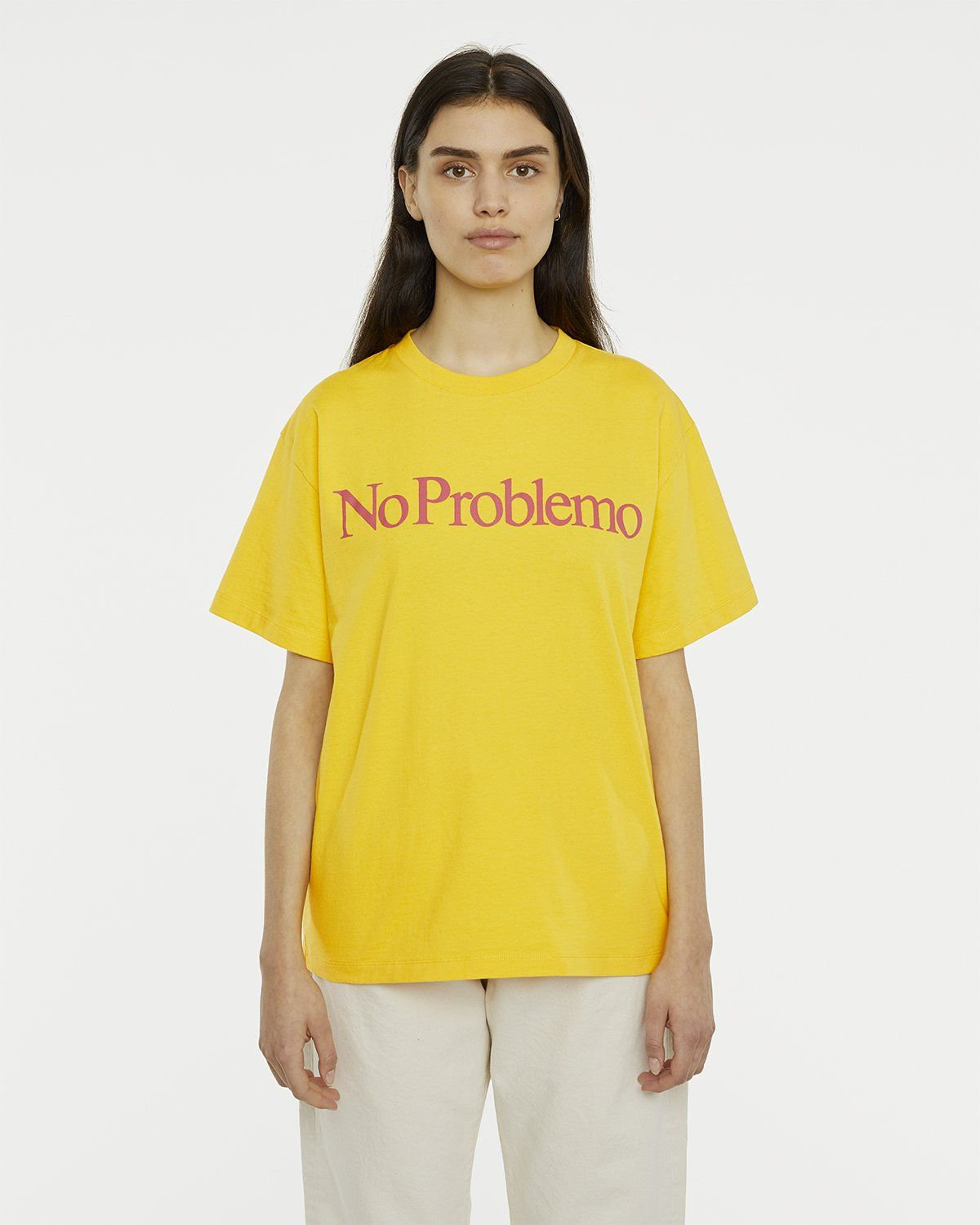 Aries - No Problemo Tee Yellow - Image 4