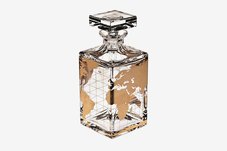 Atlas Lead Crystal Spirits Decanter
