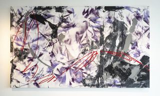"""Futura's Latest """"Abstract Compass"""" Exhibition Shown at Art Basel Hong Kong"""