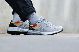 66971cec17ed Aries Adds a Splash of Color to the New Balance 990v3