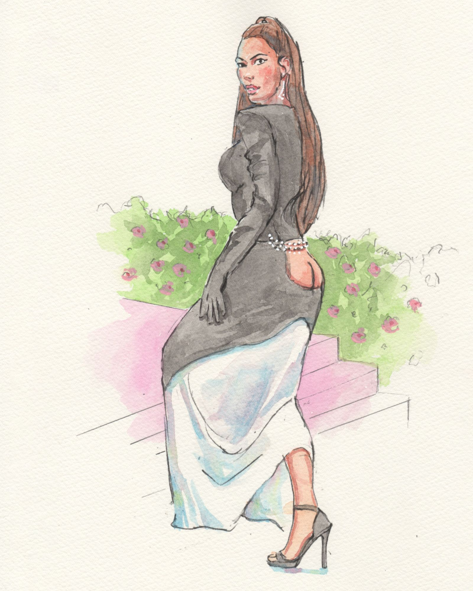 courtroom-sketch-artist-draws-fantasty-met-gala-fits-never-happened-Kim-Kardasian