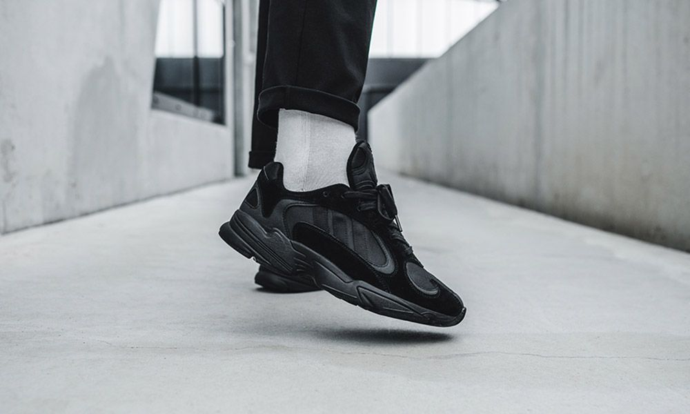 check out sale uk many fashionable How & Where to Buy the Triple Black & Triple White adidas Yung-1
