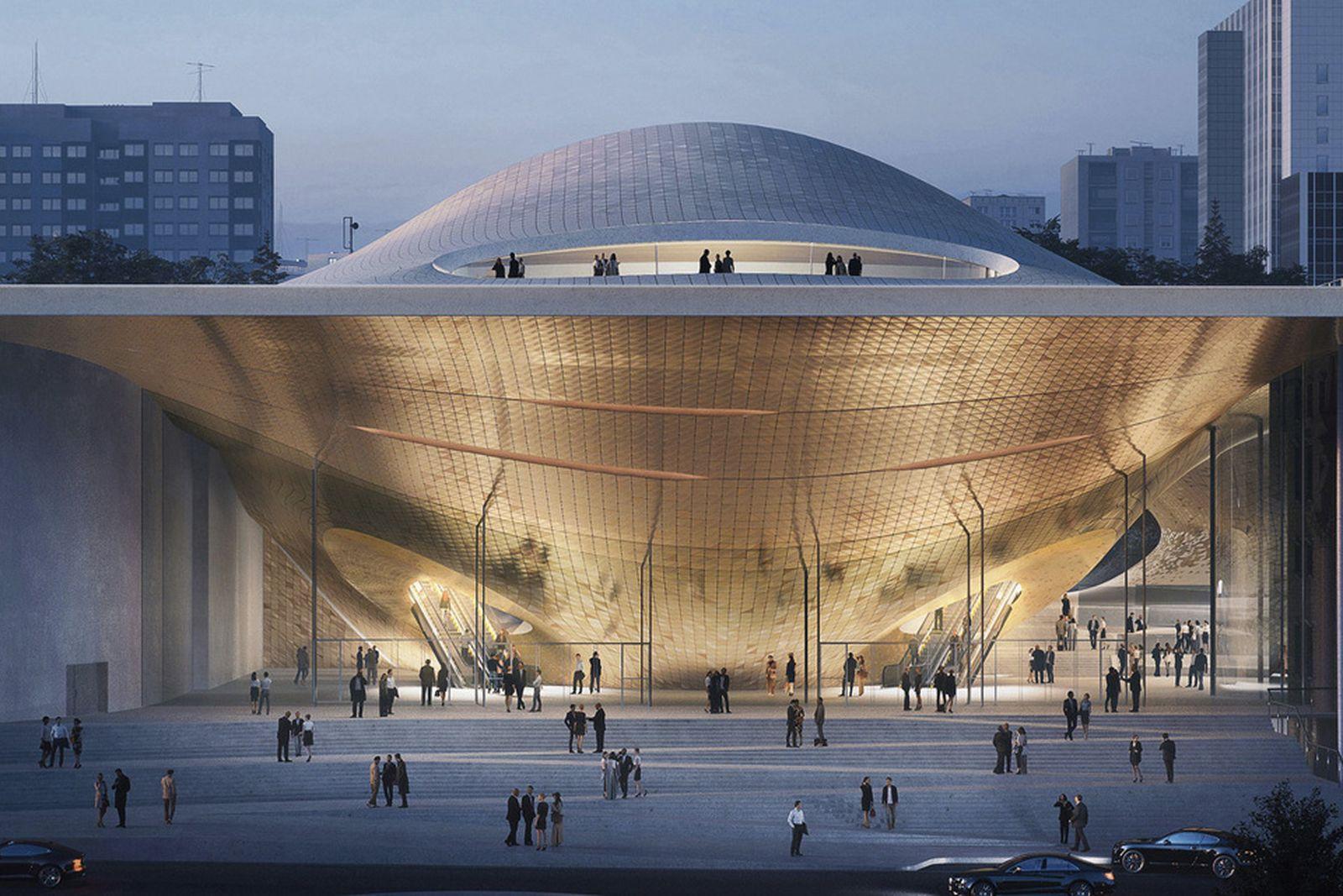 zaha hadid architects philharmonic concert hall Sverdlovsk Philharmonic Concert Hall