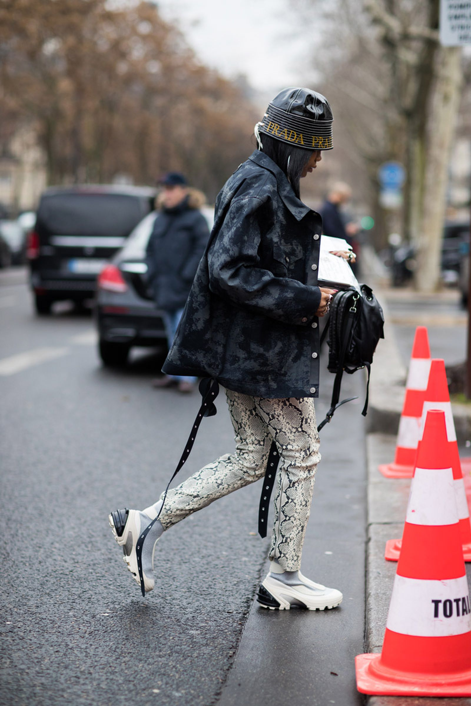 paris mfw 19 street style fw19 pfw runway