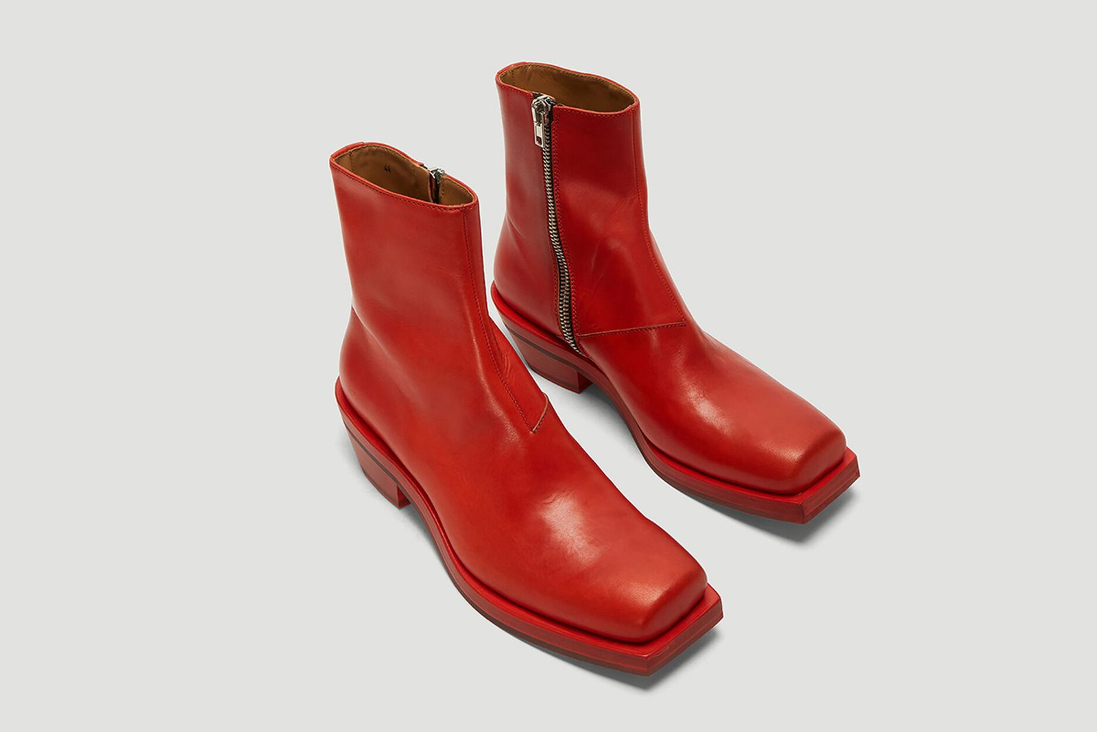 heeled boots for men main Gucci Ion Rick Owens