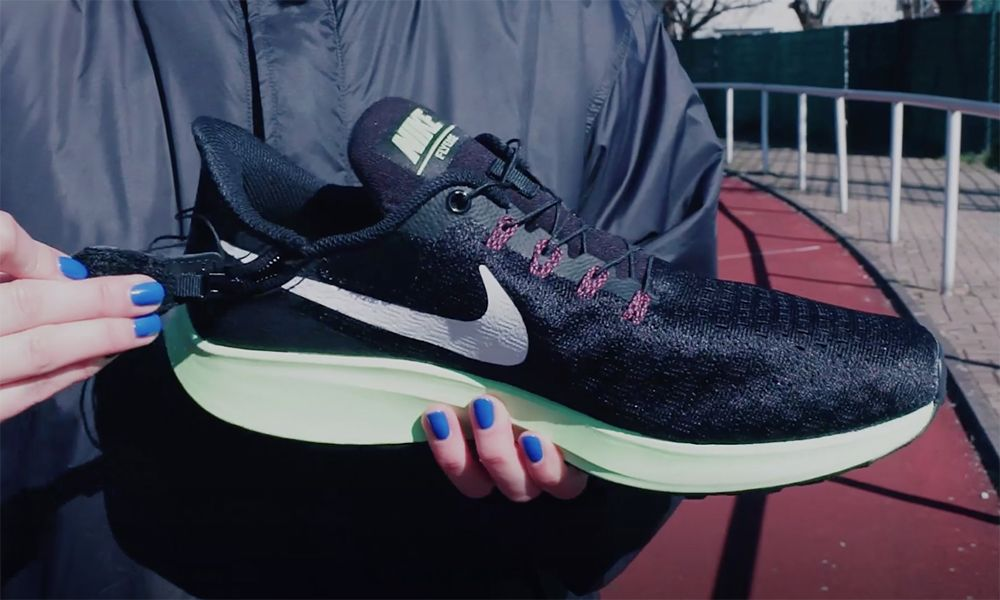 buy popular 0349f 97d21 Nike Enables Disabled Runners with the Pegasus 35 FlyEase