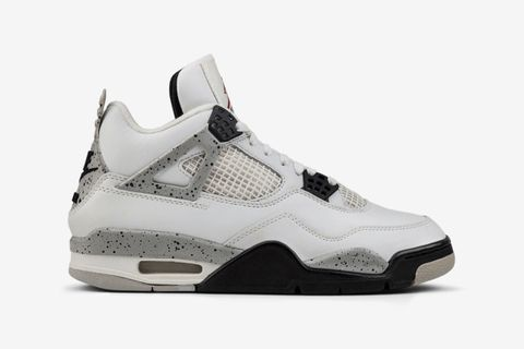 "low priced 60d37 589ad Nike Air Jordan 4 ""White Cement"" (aka ""White Black"")"