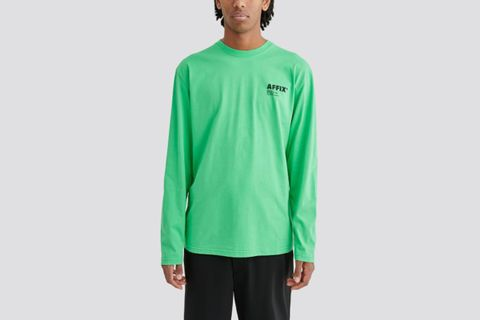 LS T-Shirt Green