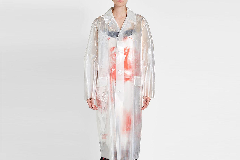 Hologram Trench Coat