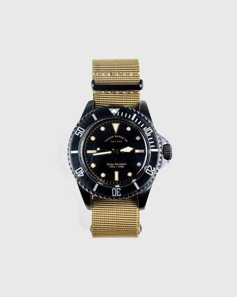 Vague Watch Co. — Submariner Black