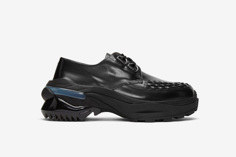 Ridged Sole Creeper Sneakers