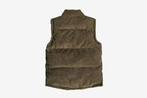 Corduroy Down Vest