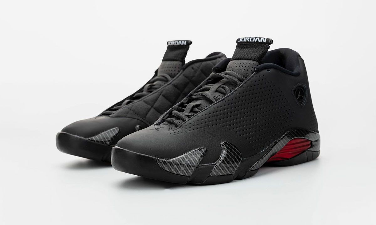 "Here's Your First Look at the Rumored Air Jordan XIV ""Black Ferrari"""