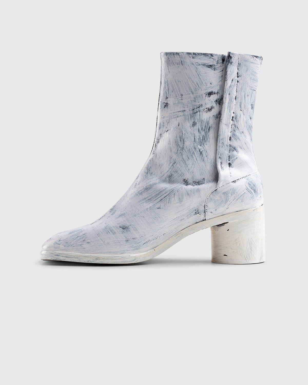 Maison Margiela – Tabi Bianchetto Chelsea Boots White - Image 7