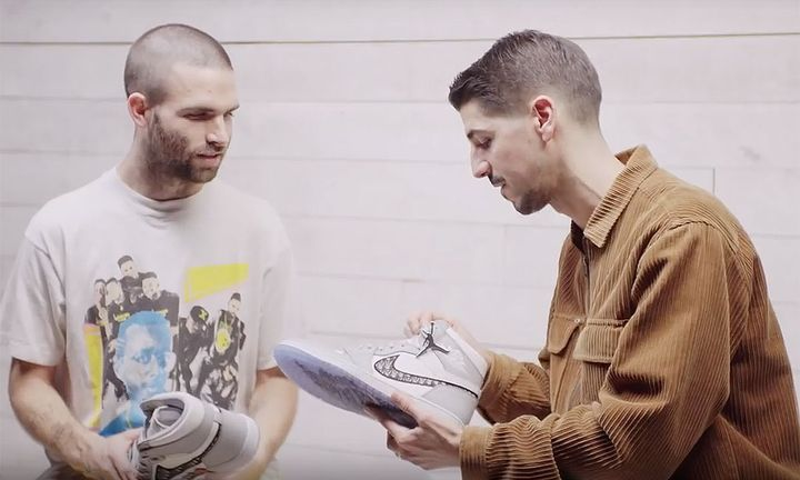 Sean Wotherspoon and Dior Head Footwear Designer Thibo