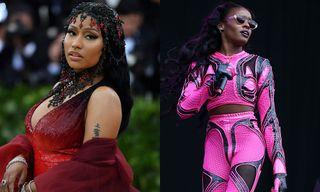 Azealia Banks Slams Nicki Minaj for Working with 6ix9ine