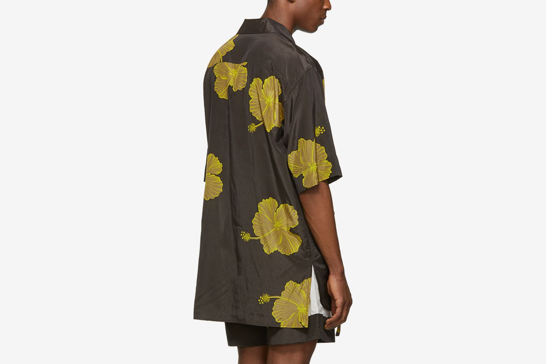 Hibiscus Floral Souvenir Tunic Shirt
