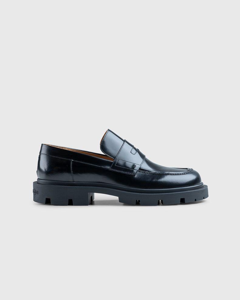 Maison Margiela – Leather Loafers Black